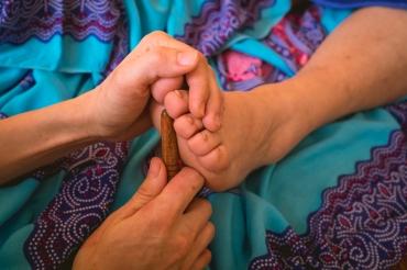 Tajski masaż stóp w bieszczadach